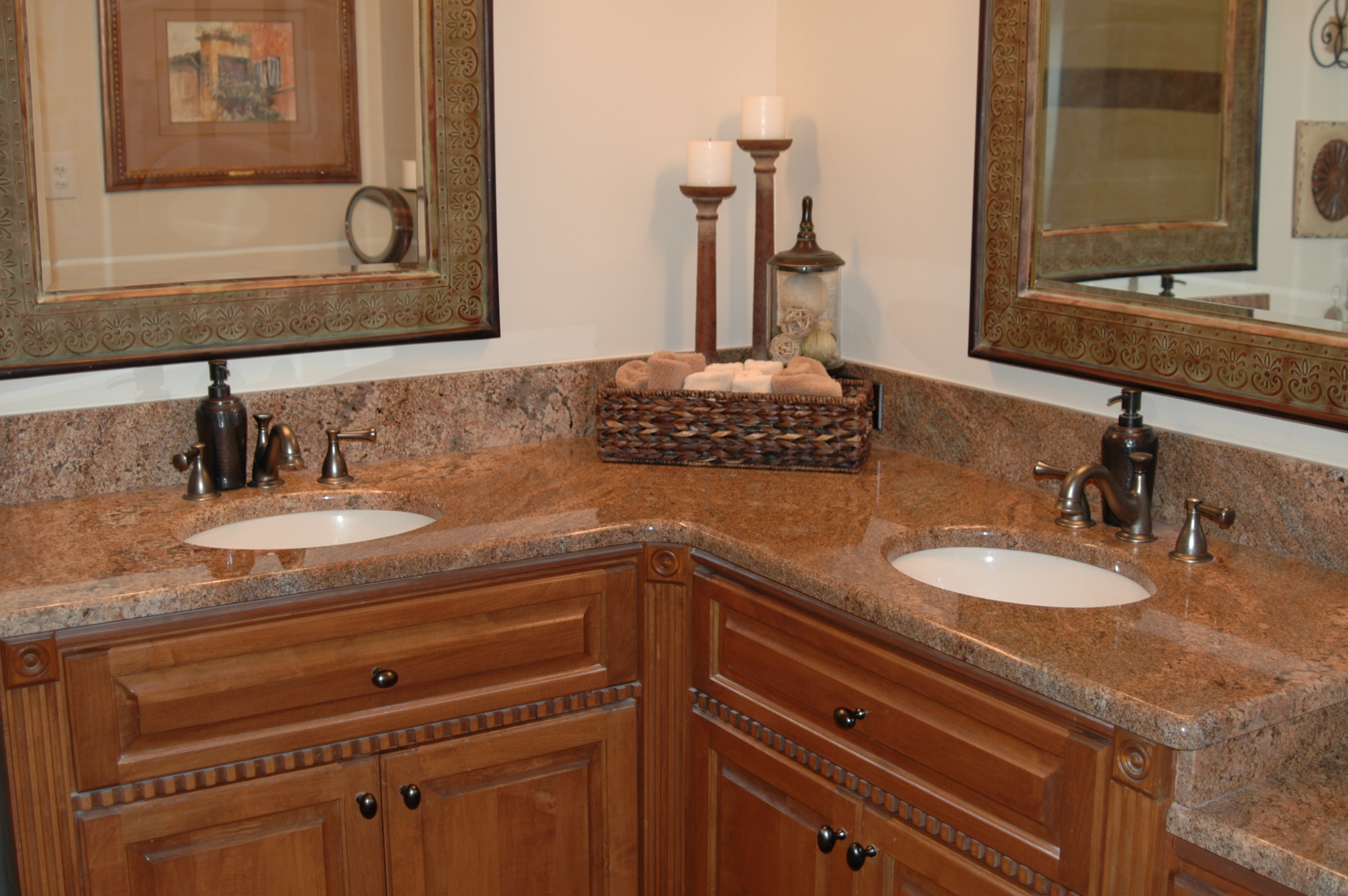 Kitchen Countertop Materials South Africa : ... Quartz Bathroom Countertops in Prattville AL Kitchen Creations Inc