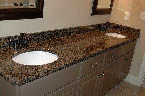 Granite Quartz Bathroom Countertops In Prattville Al Kitchen Creations Inc