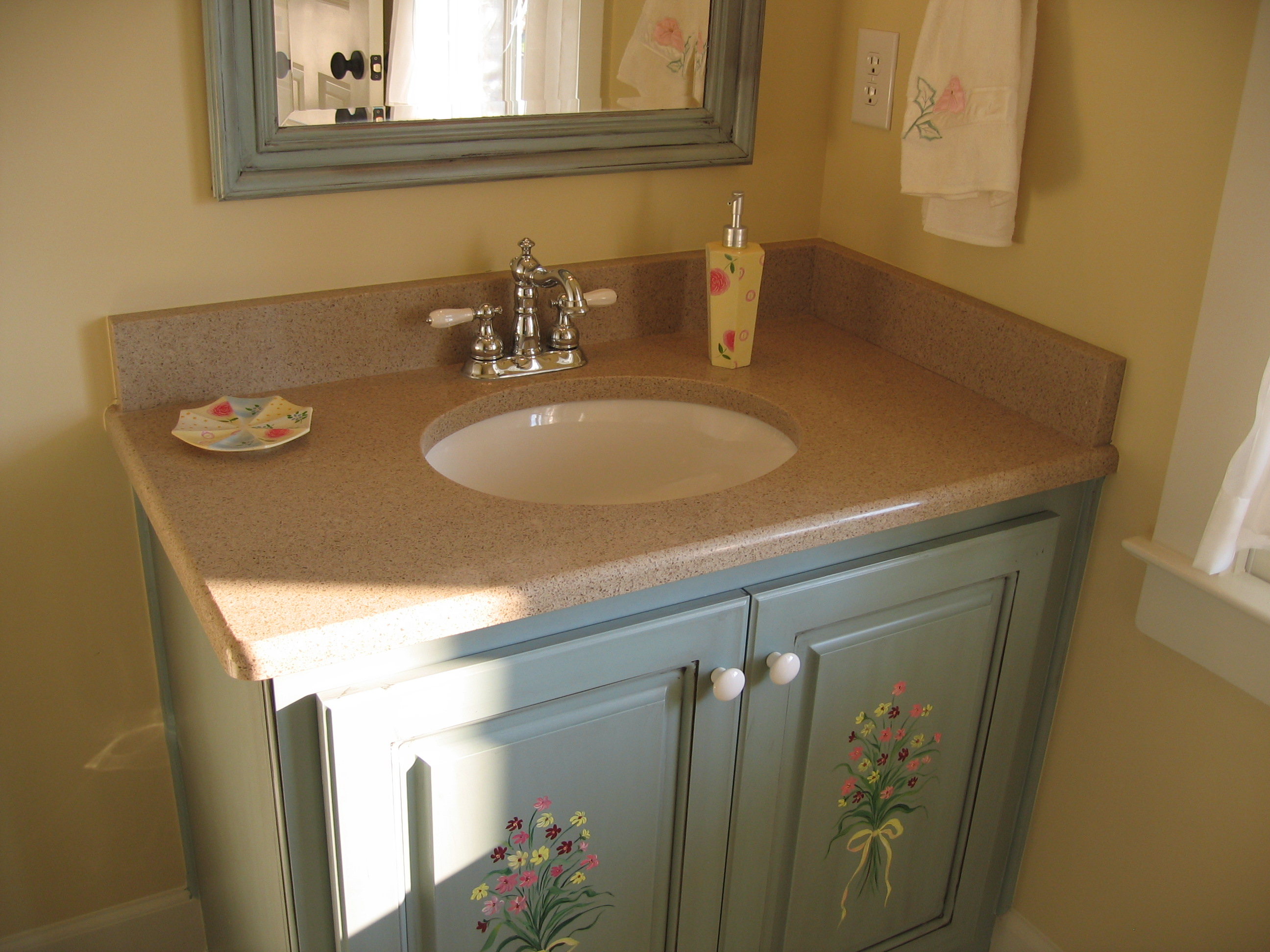 Quartz bathroom countertops - Granite Quartz Bathroom Countertops